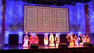 Молдiр булак - казахский концерт. Омск 14.05.2014
