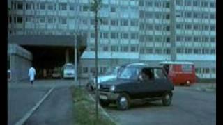 Renault 5 en cine pelicula Police Python 357