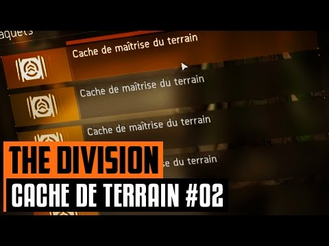 ouverture de 25 caches de ma trise du terrain 02 the division youtube. Black Bedroom Furniture Sets. Home Design Ideas