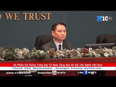 Nghị quyết Cấm cờ Cộng hòa Xã hội Chủ Nghĩa Việt Nam Tại Mỹ - Tp Westminter