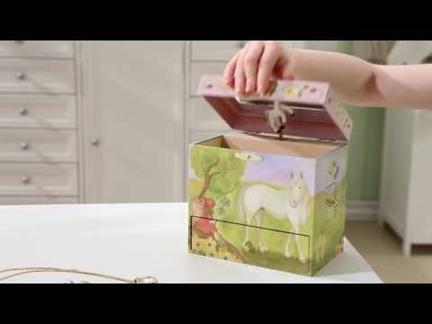 Horse Fairy Musical Treasure Box by Enchantmints, from Reeves International
