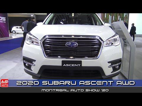 2020 Subaru Ascent AWD - Exterior And Interior - Montreal Auto Show 2020