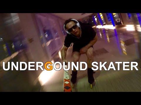 Underground Skater   -Blading Toronto's Hidden Mall