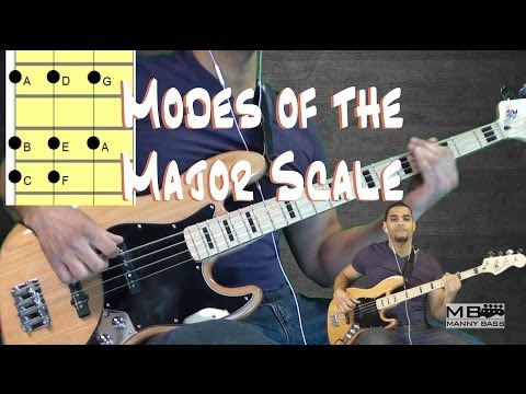 Bass Basics 9: Modes of the major scale