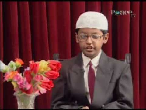THE WONDER KIDS on PEACE TV With Chufran Pathan 1/3