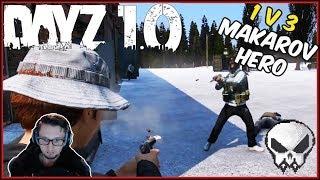 DayZ 1.0 - 1v3 Makarov Hero (PVP) - German Gameplay