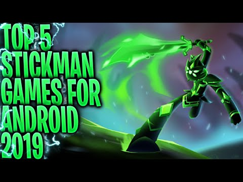 TOP 5 OFFLINE STICKMAN GAMES FOR ANDROID 2019
