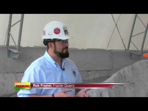 Frazier Quarry- Aglime and Its Uses