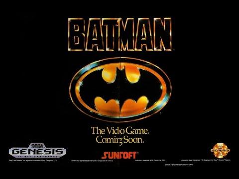 batman sega megadrive 1991 jeu gratuit