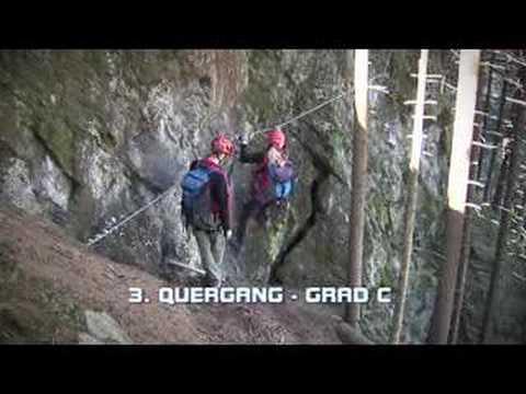 Klettersteig Bälmeten : Mayrhofen im zillertal klettersteig zimmereben youtube