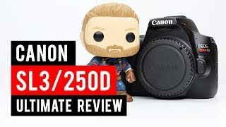 Canon SL3 (250d/200d mk ii) Ultimate Review, Test Images and Footage