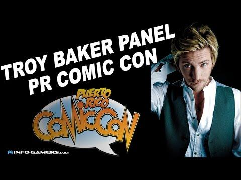 Troy Baker Q&A - Puerto Rico Comic Con 2015
