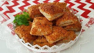 Milföyden 5 Dakikada Simit Lezzetinde Pratik Börek-Börek Tarifleri-Gurbetinmutfagi
