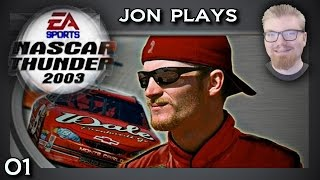 NASCAR Thunder 2003 - Career - E01 : Daytona 500. (Let