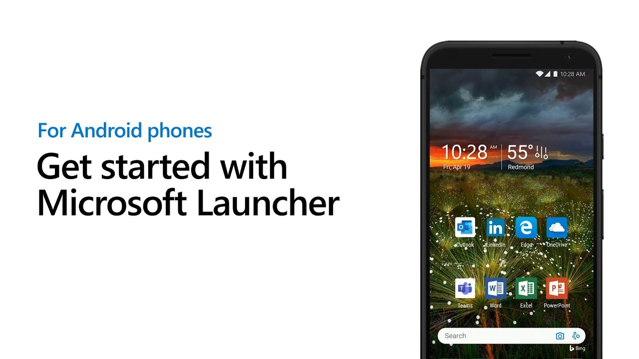 Get started with Microsoft Launcher for Android Phones
