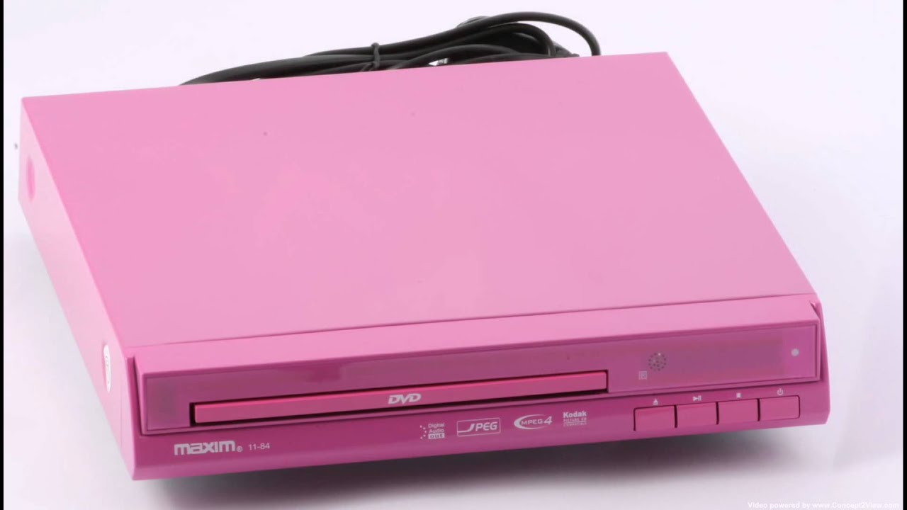 Pink Tv Online Pink Dvd Player Available From Internet Shop Uk Youtube