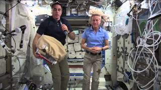 ISS Astronauts Discuss Mission with the Media