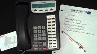 Setting Up Custom Voicemail Greetings on Toshiba Phone Systems