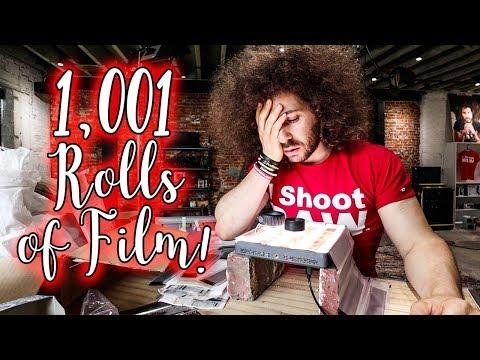 1,001 ROLLS OF FILM! NOW WHAT DO I DO?