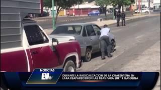 Reaparecieron las colas para la gasolina en Vzla pese a cuarentena - Noticias EVTV 07/09/2020