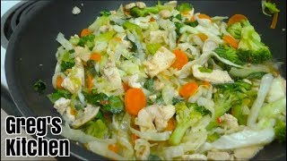 Cap Cay Chicken and Vegetables Recipe