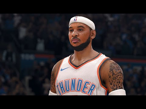 NBA LIVE 18 - Minnesota Timberwolves vs Oklahoma City Thunder - 2nd Half - PS4 PRO 1080p - HD