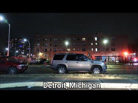 DETROIT VS ATLANTA / MOST DANGEROUS HOODS AT NIGHT