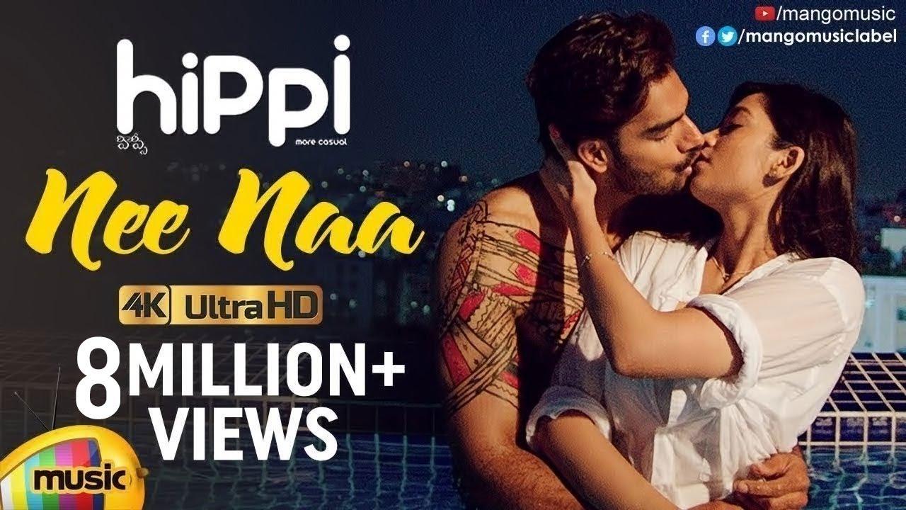 Nee Naa Full Video Song 4K | Hippi Movie Full Video Songs | Kartikeya | Digangana | Mango Music