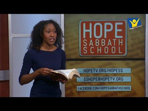 Szkoła Sobotnia Hope Channel - Lekcja III (21 października 2017)