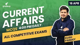 Daily Current Affairs MCQs for All Competitive Exams