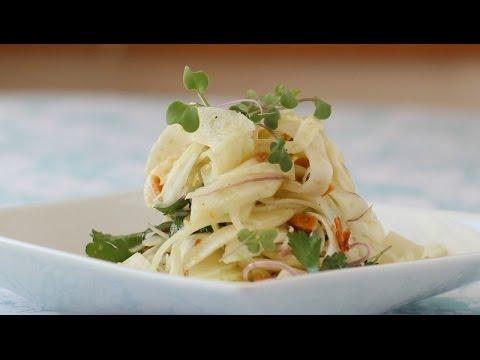 Fennel Almond Salad
