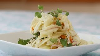 Fennel Almond Salad
