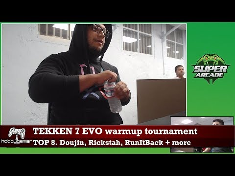 Tekken 7 EVO warmup tournament: Top 8 (Rickstah, Doujin, RunItBack + more)