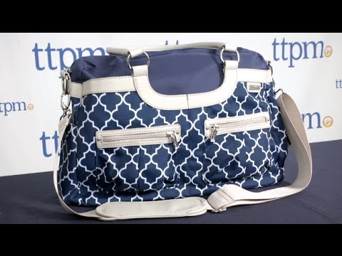 jj cole collections satchel diaper bag from tomy youtube. Black Bedroom Furniture Sets. Home Design Ideas