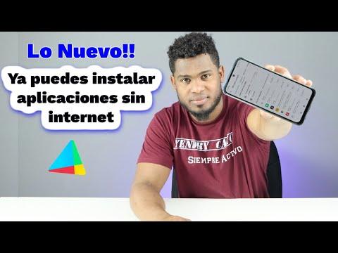 YA puedes descargar e instalar aplicaciones sin conexión a internet de esta forma en la Play Store