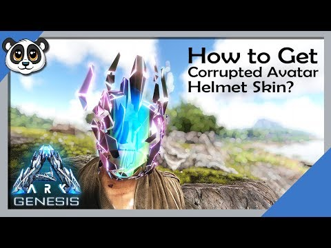 How To Get Corrupted Avatar Helmet Skin | ARK: Genesis Chronicles