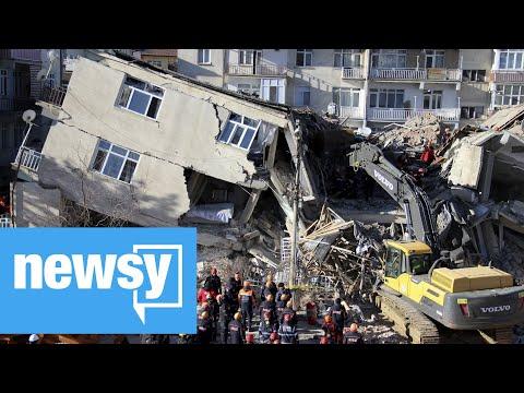 36 dead, 1,600 hurt in Turkey earthquake