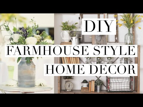 DIY pottery barn farmhouse inspired home decor | beeisforbeeauty