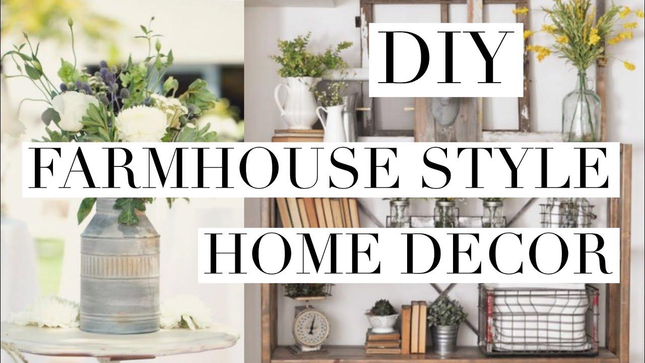 Diy pottery barn farmhouse inspired home decor for Diy home decor