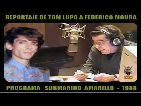 Federico Moura (Virus) - Reportaje de Tom Lupo (1987)
