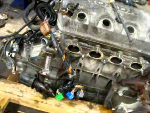 Honda Civic D16Y7 to D16Y8 tutorial part 1 on
