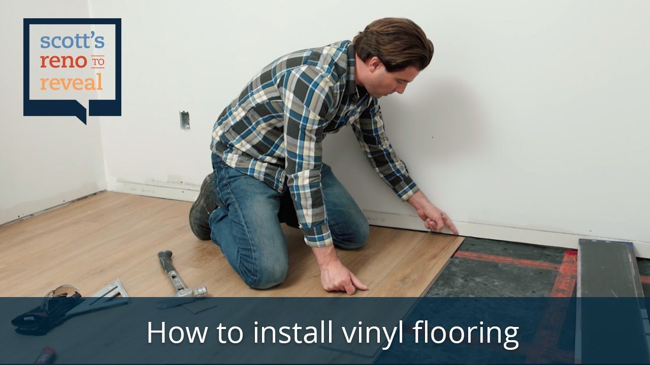 How To Install Vinyl Flooring You
