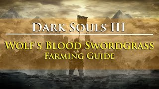 Dark Souls III - Wolf's Blood Swordgrass Farming Guide (Watchdogs of Farron Covenant Item)