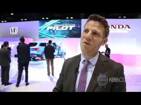 2016 Honda Pilot 2015 Chicago Auto Show