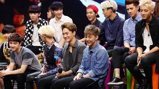 Video 快乐大本营 Happy Camp: EXO 11人绝版同台-EXO 11 Members Rare On Stage Appearance【湖南卫视官方版1080P】 20141025 download MP3, 3GP, MP4, WEBM, AVI, FLV September 2018