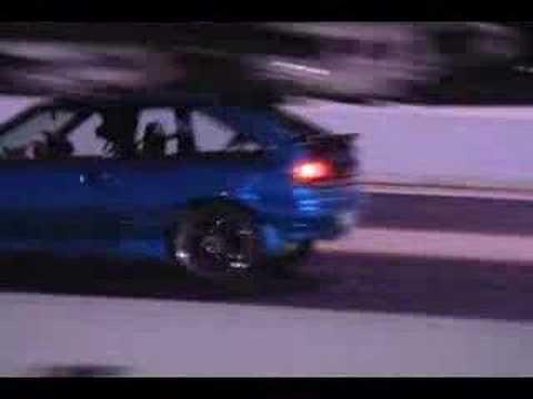 Ford Laser 16 TX3 Calder 12043 @120 mph  YouTube