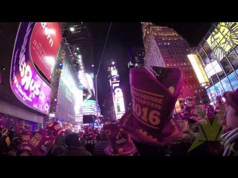 Times Square Ball Drop 2016