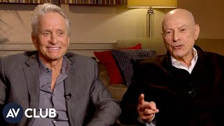 "Michael Douglas and Alan Arkin play ""What does that prescription drug do?"""