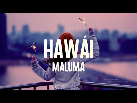 Maluma – HÁWAI (Letra/Lyrics)