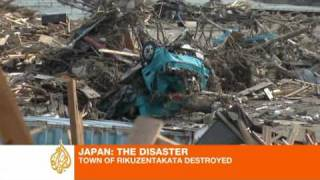 Rikuzentakata destroyed by tsunami